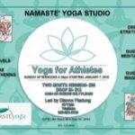 Yoga for Athletes Every Sunday 4:30 beginning January 7